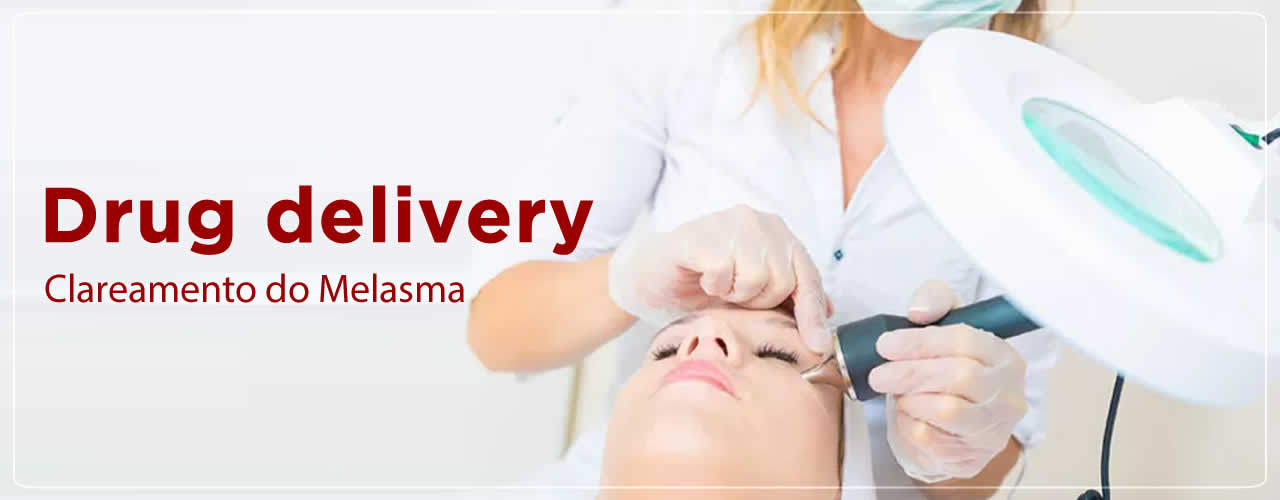 Drug delivery para clareamento do Melasma