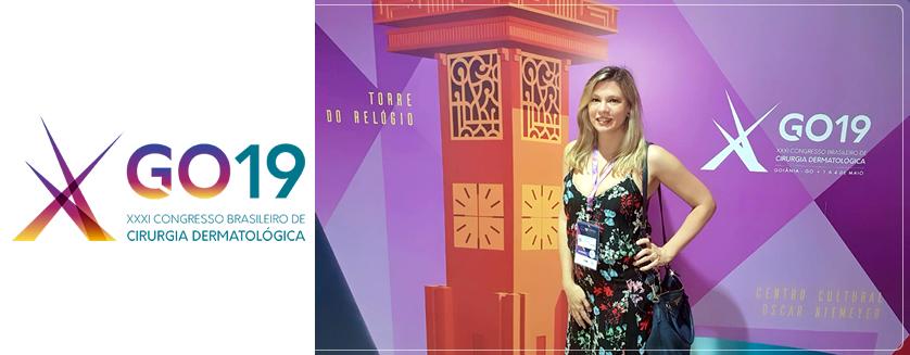 XXXI Congresso Brasileiro de Cirurgia Dermatológica – Maio 2019