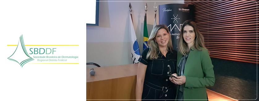 Curso de atualização promovido pela Sociedade Brasileira de Dermatologia do DF