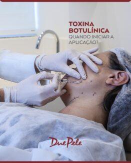 Toxina Botulínica, Quando começar?
